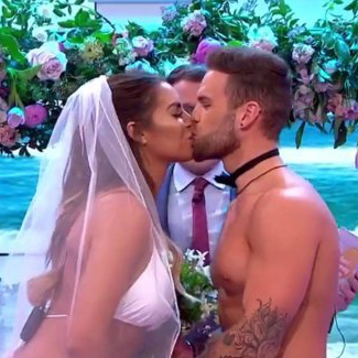 Jess and Dom get married live on GMB